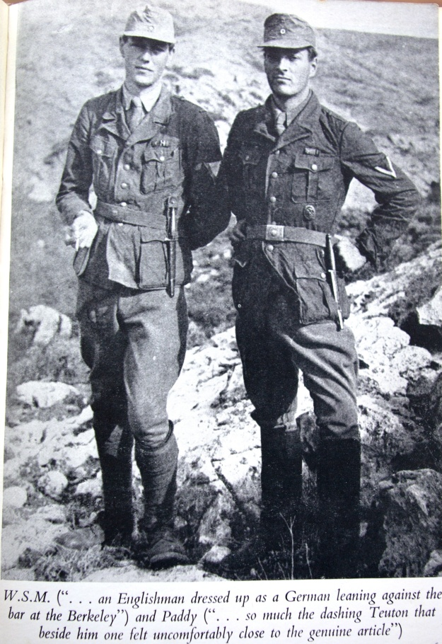 Patrick Leigh Fermor and Moss