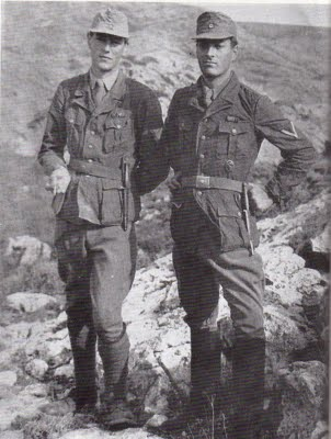 'Billy' Moss and Paddy Leigh Fermor