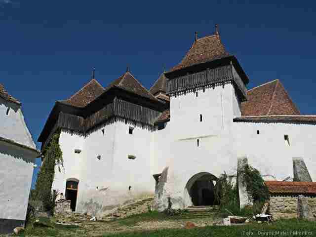 Viscri church