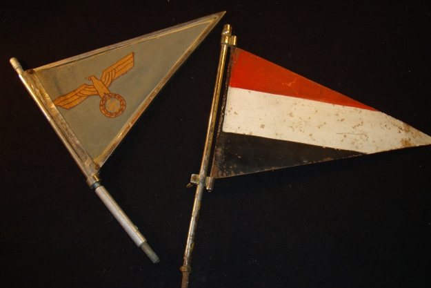 The Kreipe pennants - Copyright Artemis Cooper 2011