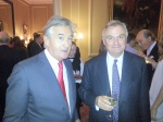 Antony Beevor and Tim Hely-Hutchinson