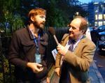 Nick Hunt and James Naughtie