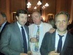 Nicky Dunne, Barnaby Rogerson and Rodney Troubridge