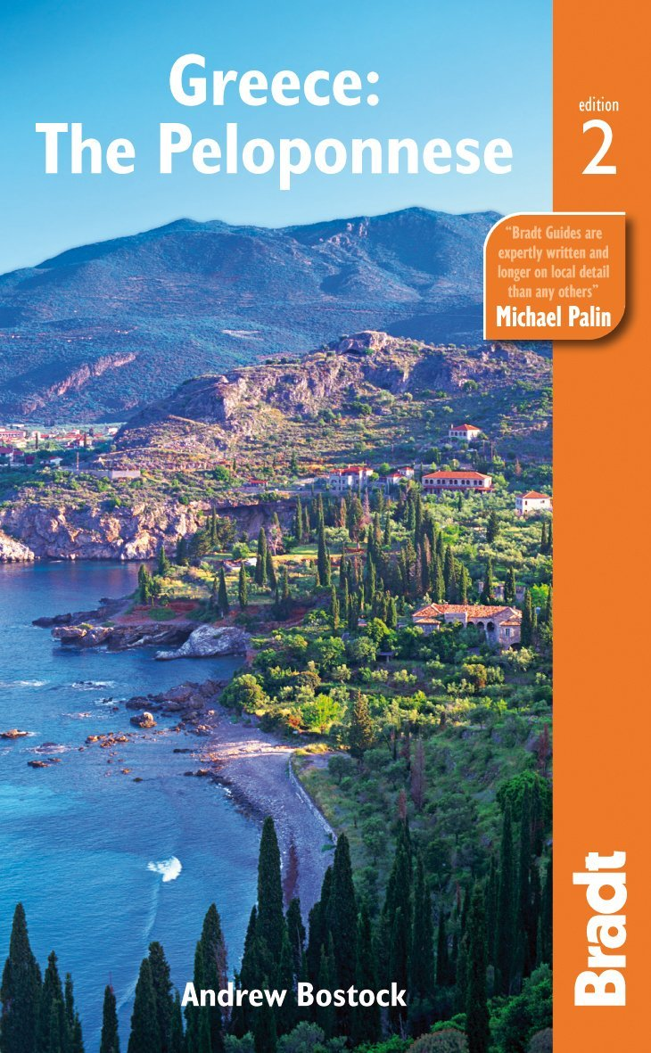 Bradt Guide to the Peloponnese by Andrew Bostock
