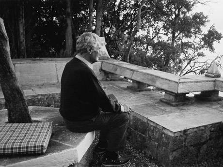 Patrick Leigh Fermor in later life