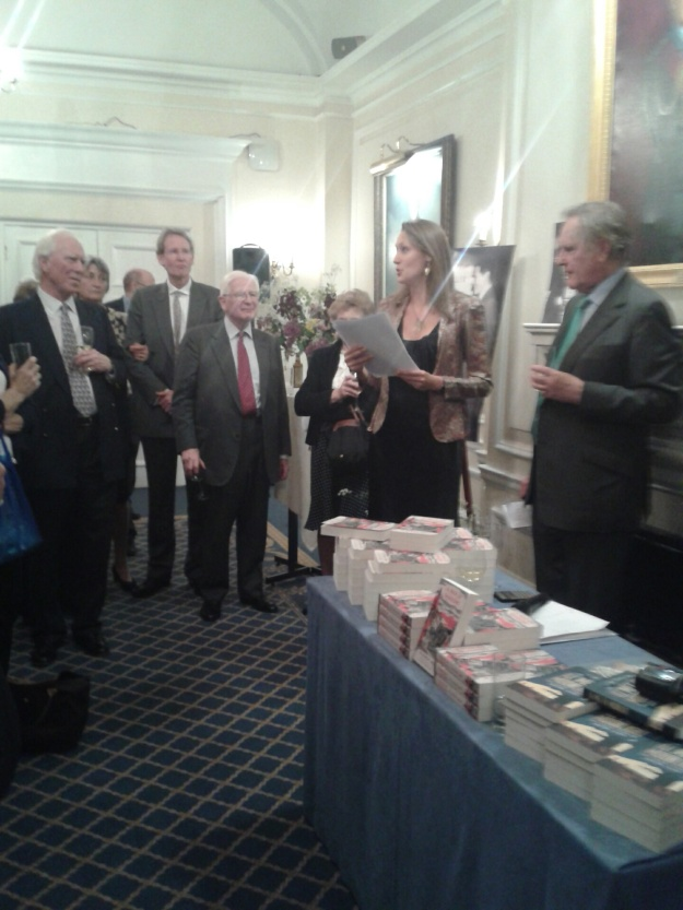 Liely Bullock at the recent relaunch of A War of Shadows