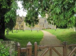 Dumbleton Church - The entrance gate
