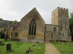 Dumbleton Church - path to entrance