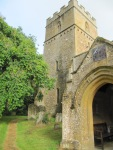 Dumbleton Church - porch and tower