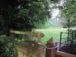 Dumbleton Church - The gate from the church to Dumbleton Hall