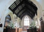 Dumbleton Church - the nave
