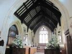 Dumbleton Church - the nave