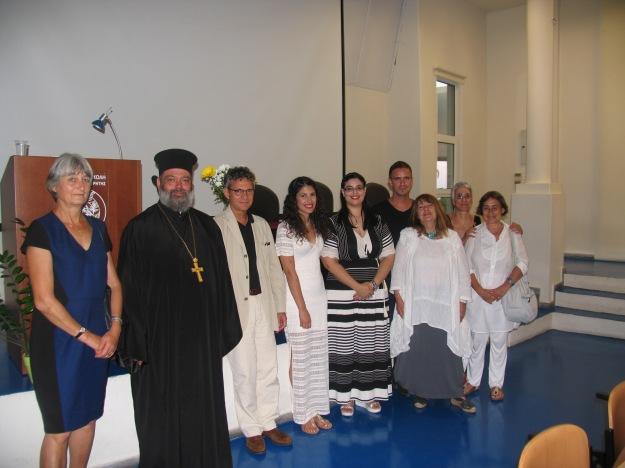 Gabriella Bullock (Left) and guests at the inaugural awards 21 July 2015