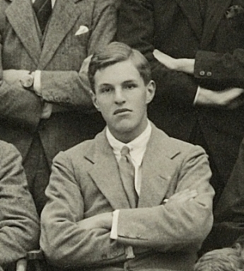 Pendlebury at Winchester College 1923