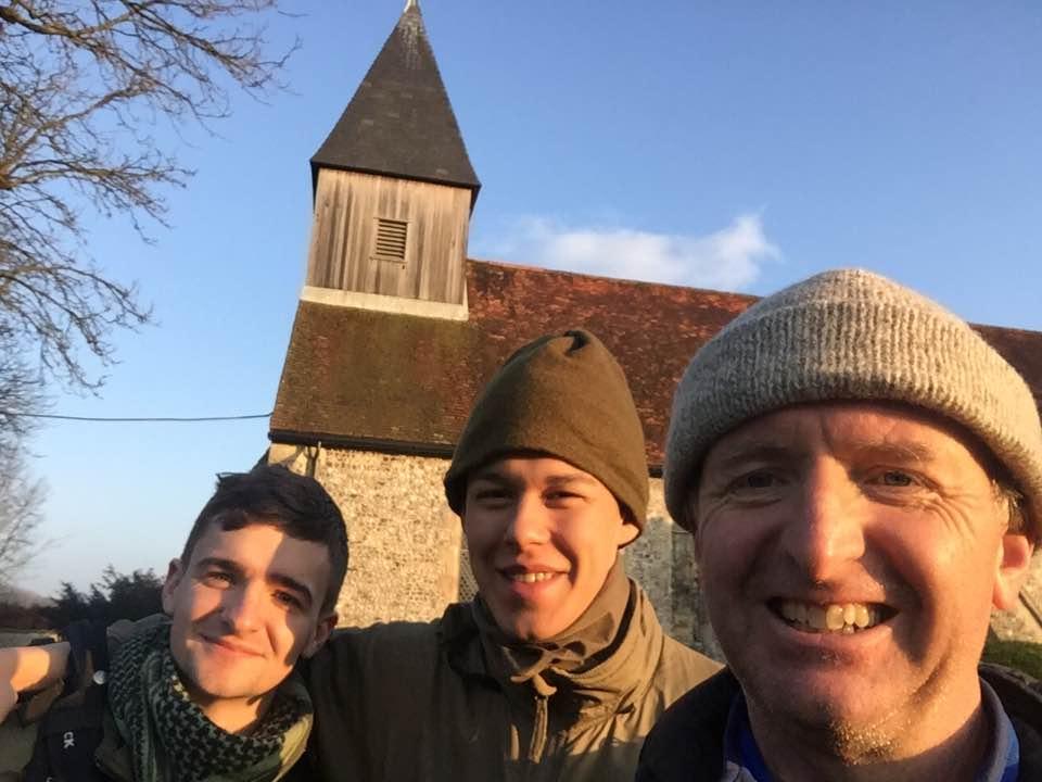 Patrick, Teddy and Tom