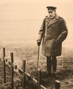 King George V at Etaples Cemetery