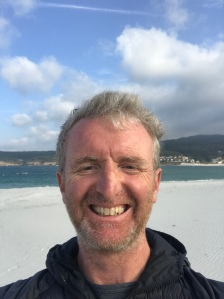 Tom on the Costa da Morte, Galicia, 2018
