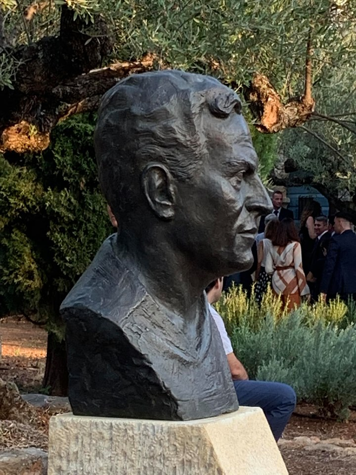 New bust of Patrick Leigh Fermor