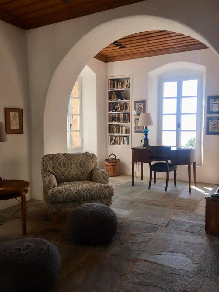 Inside the house of Patrick and Joan Leigh Fermor