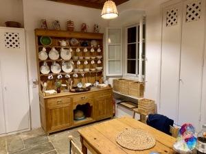 Patrick Leigh Fermor house kitchen. Courtesy Micheal Torrens