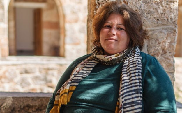Elpida Belogianni was Patrick Leigh Fermor's cook from 2001 to his death in 2011